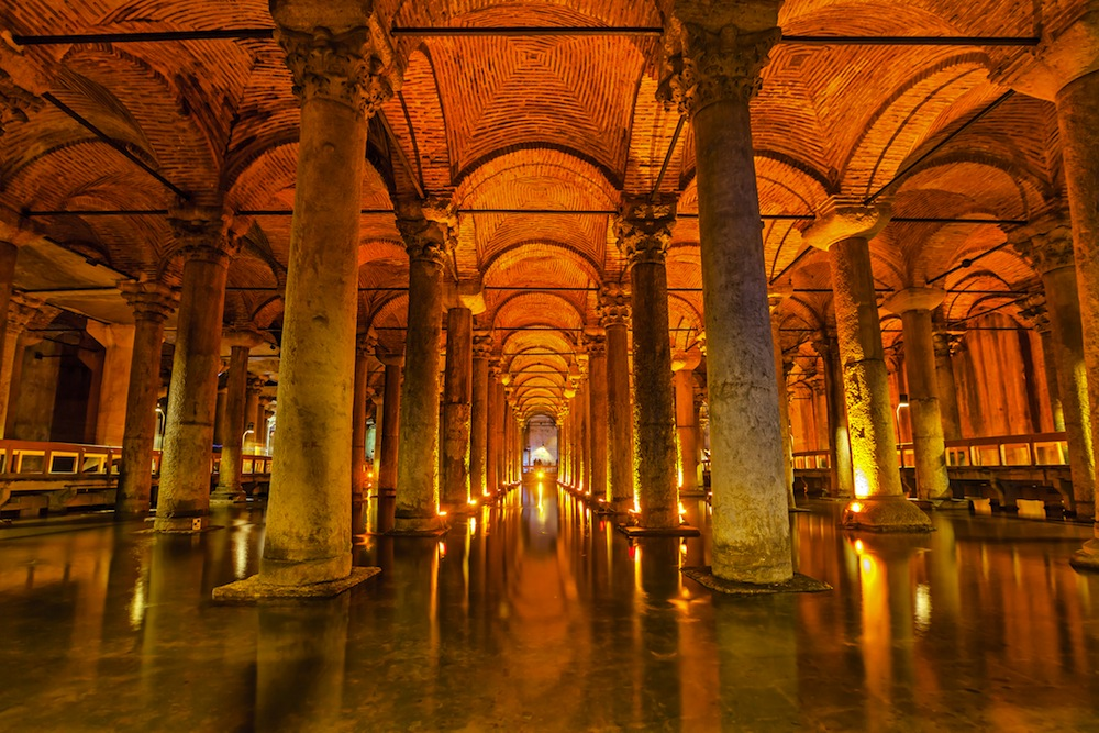 Cisterna de Yerebatan, Estambul, visitar, horario, precio – 101viajes