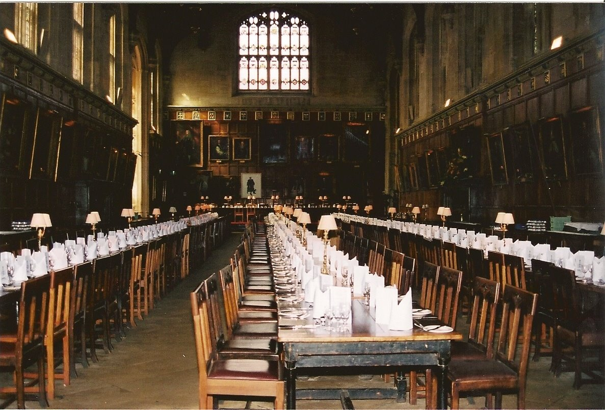 Ruta y lugares de harry potter ruta y lugares de harry for Comedor harry potter