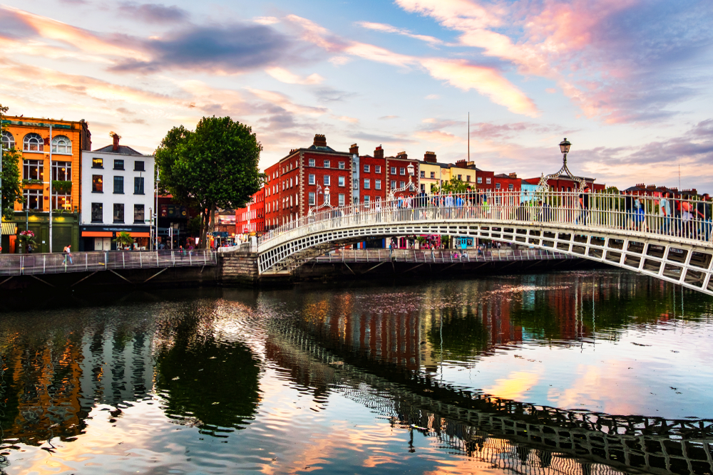 Ha'penny Bridge - Dublín