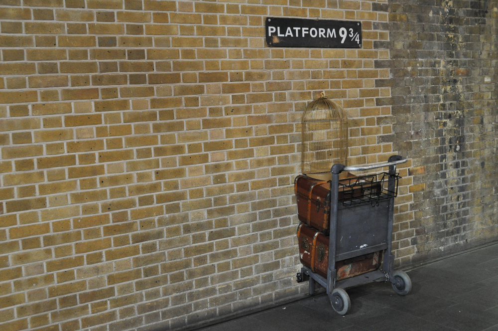 Andén 9 y 3/4 de Harry Potter - Londres