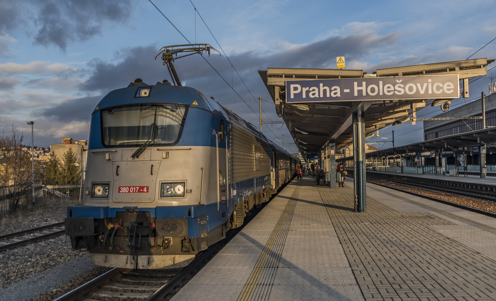 Estación de tren de Praga Holesovice