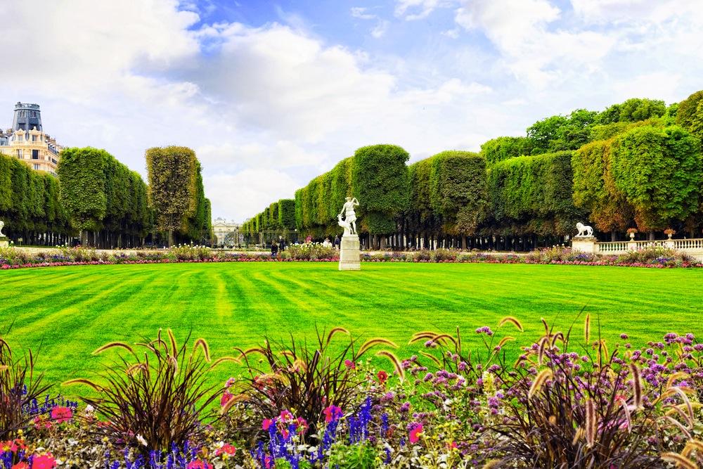 Jardines de luxemburgo paris horario y direcci n - Losas de hormigon para jardines ...