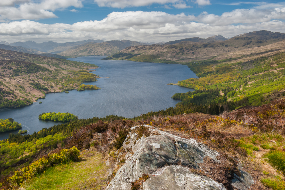 Lago Katrine, The Trossachs, Edimburgo