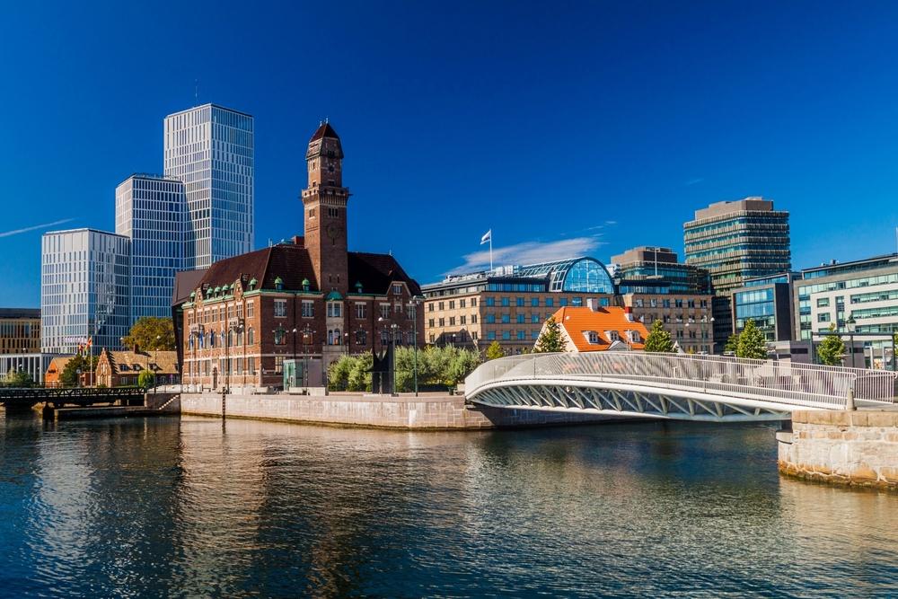 Malmö, cerca de Copenhague