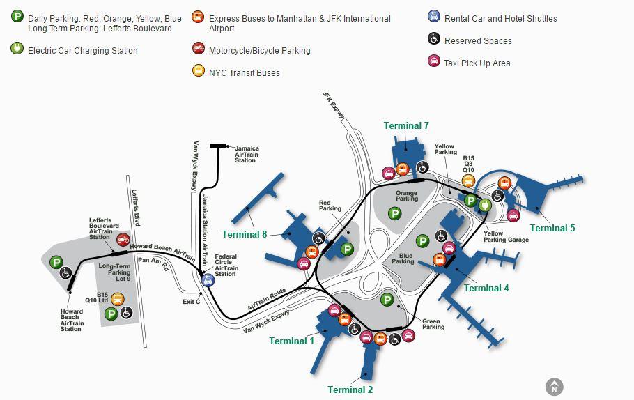 Resultado de imagen de aeropuerto JFK