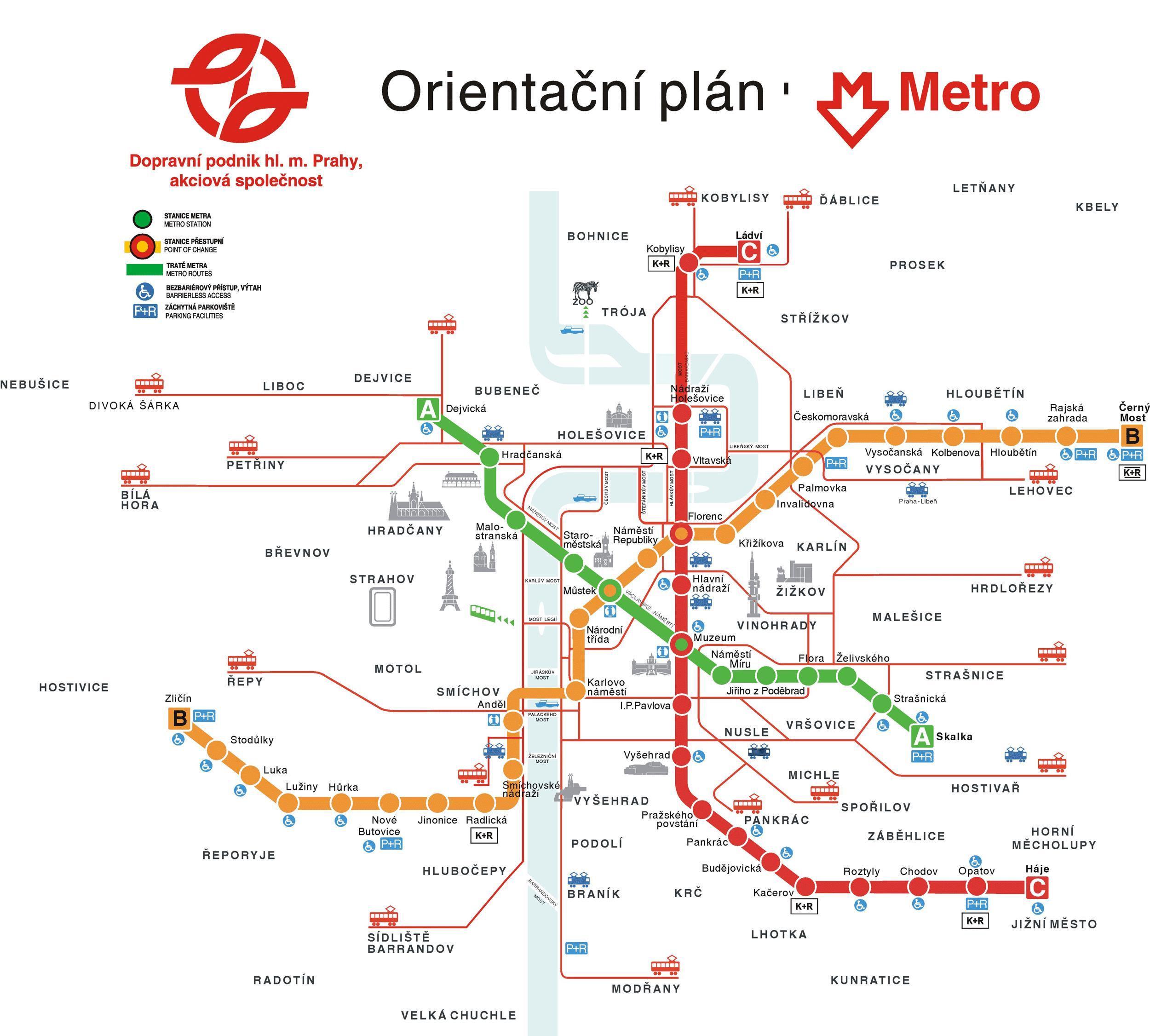 Mapa De Praga Plano Y Callejero De Praga 101viajes Com