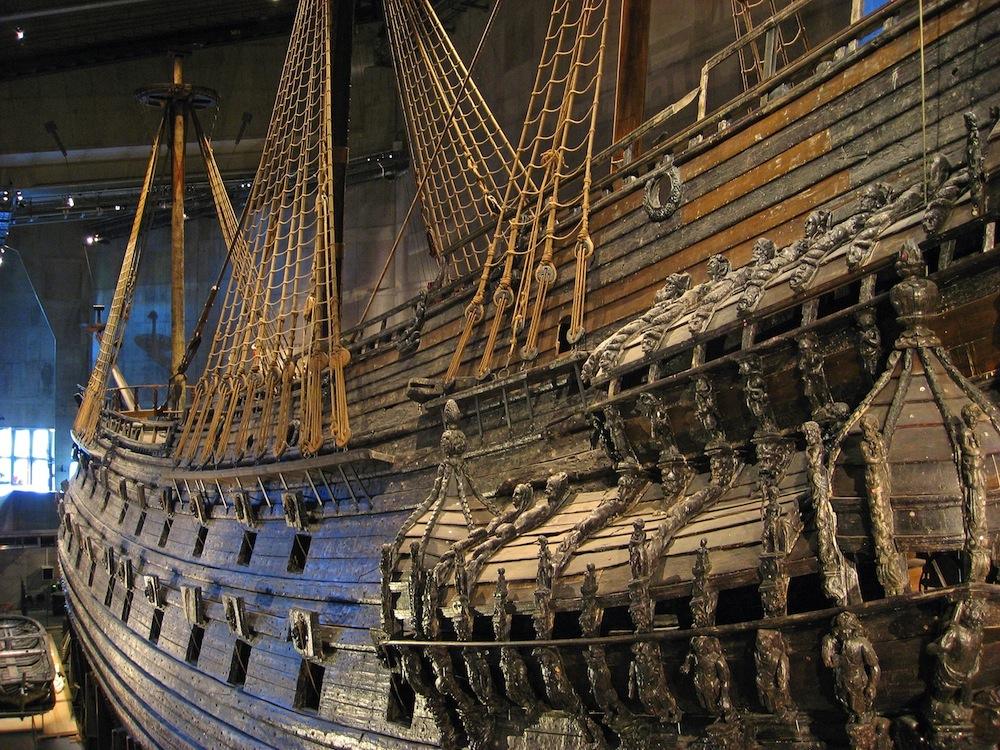 Museo Vasa, en Estocolmo