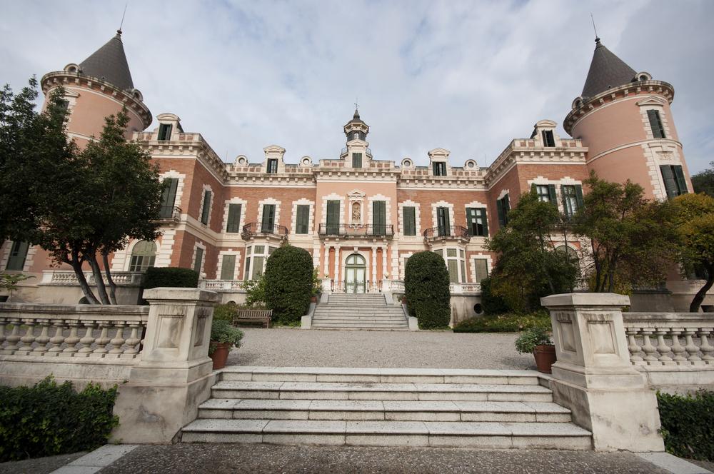 Jardines del palau de les heures de barcelona visitas for Jardines del palau