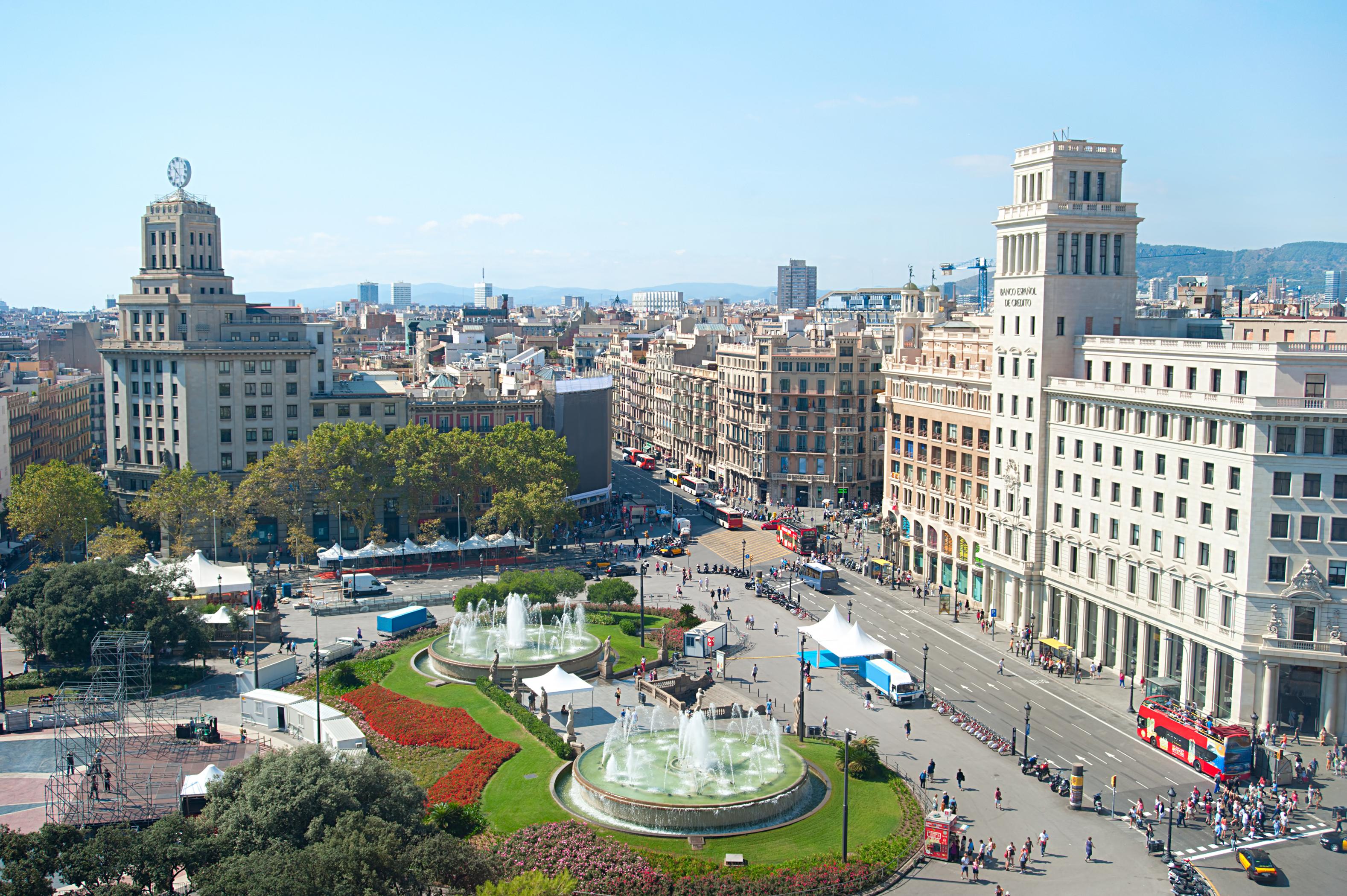 Plaza Cataluña de Barcelona 8b15a80f21d