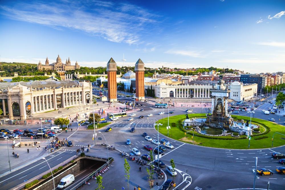 Resultado de imagen de plaza-espana barcelona