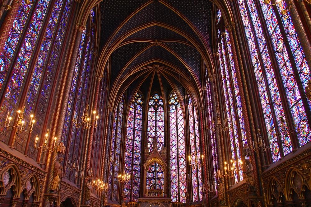 Resultado de imagen de saint chapelle