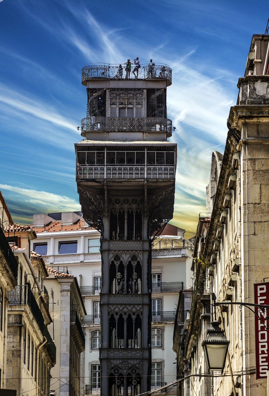 Elevadores En Lisboa Santa Justa Ascensor Da Bica Y Da Gloria