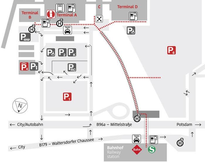 Mapa de Berln Plano y callejero de Berln  101Viajescom
