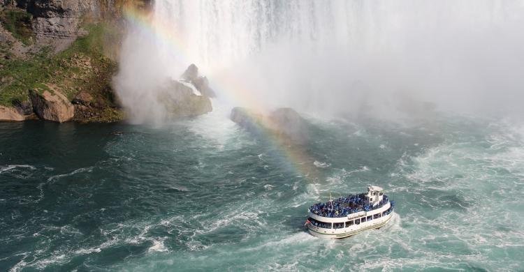 Travesía en barco Maid of the Mist