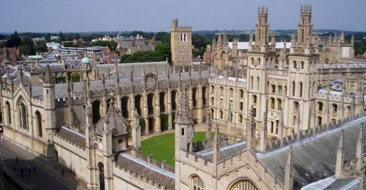 All Souls College en Oxford