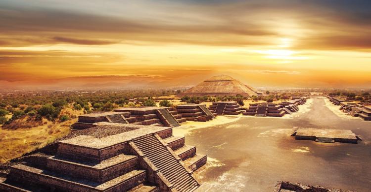 Resultado de imagen para piramides de teotihuacan