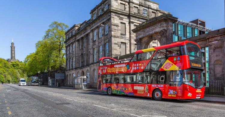 Hop on Hop off en Edimburgo
