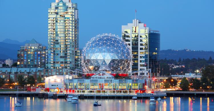 El Science World de Vancouver