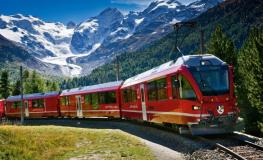 Tren Bernina Express