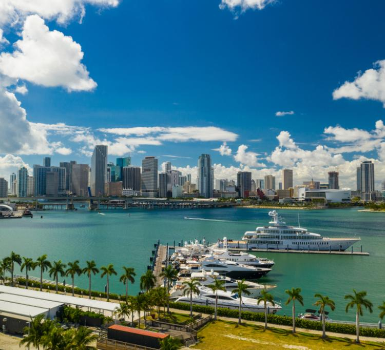 Bahía de Miami, Downtown
