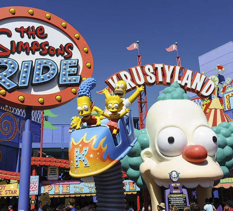 Universal Studios, The Simpsons