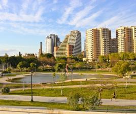 Jardines y parques en valencia zonas verdes visitas horarios y direcci n - Jardin del turia valencia ...