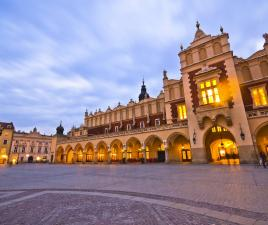 plaza mayor cracovia