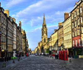 royal mile calle
