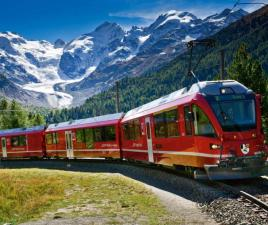 Tour Bernina Express Alpes Suizos