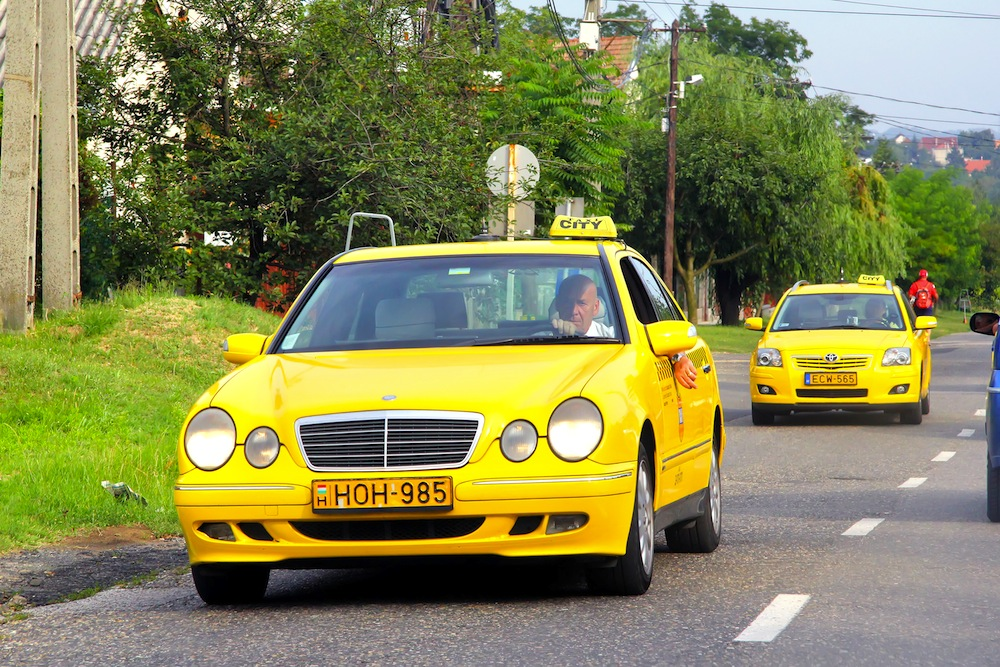 taxi budapest