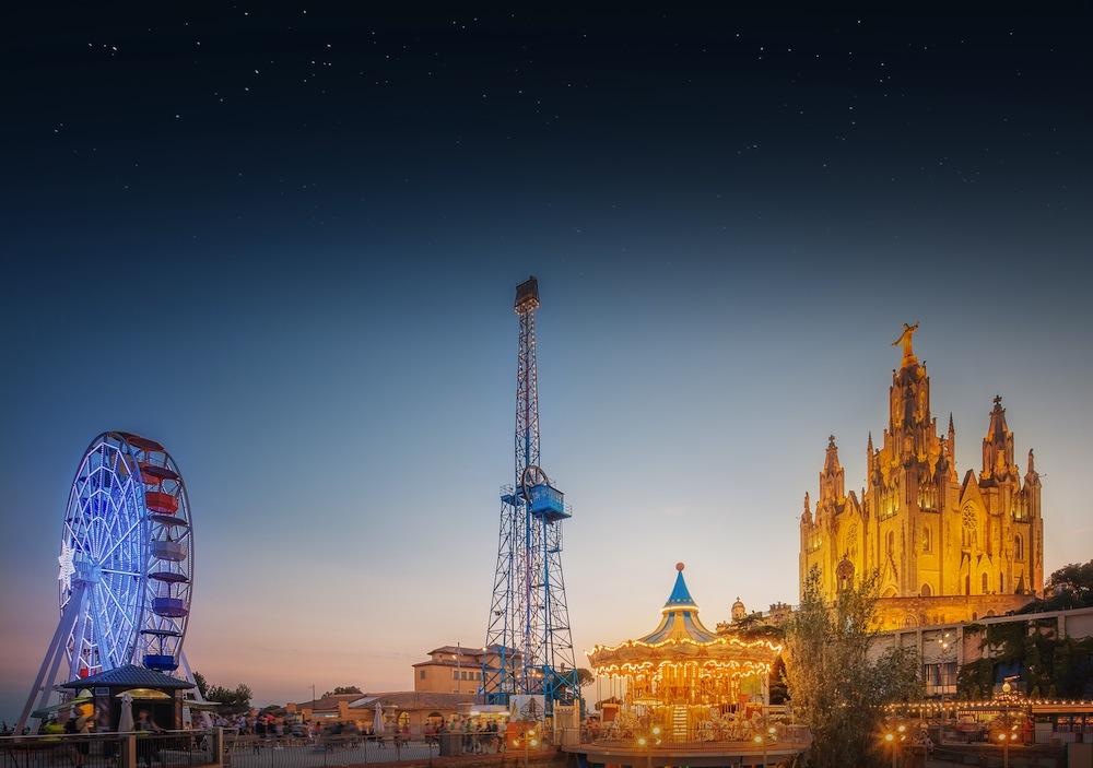 Parque de atracciones del tibidabo de barcelona visitas - Placa kennedy barcelona ...